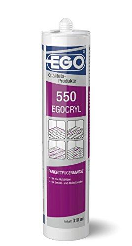 EGOCRYL 550 Parkettfugenmasse, 310ml Kartusche, Buche hell