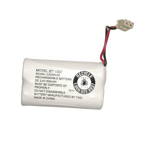 Uniden BBTY0651101 Model BT1007 Nickel-Cadmium Rechargeable Cordless Phone Battery, DC 2.4V 500mAh