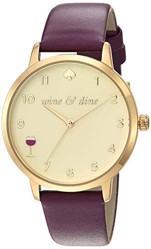 Kate Spade New York 34 mm Metro - KSW9022 Wine One Size