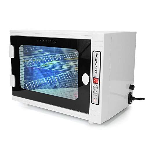 Brrnoo Esterilizador de ozono Ultravioleta de Doble Capa 10 L Toalla Desinfección Gabinete Máquina de esterilización Limpieza UV para Ropa Hogar Salón Hotel(01)