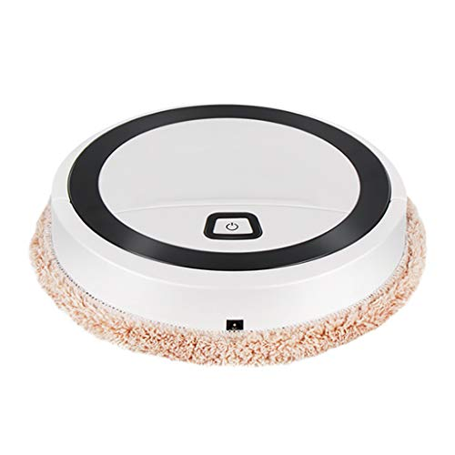 Lowest Prices! QIUUE 2020 Sales Mini Mopping Robot Small Household Automatic Wireless Intelligent Fl...