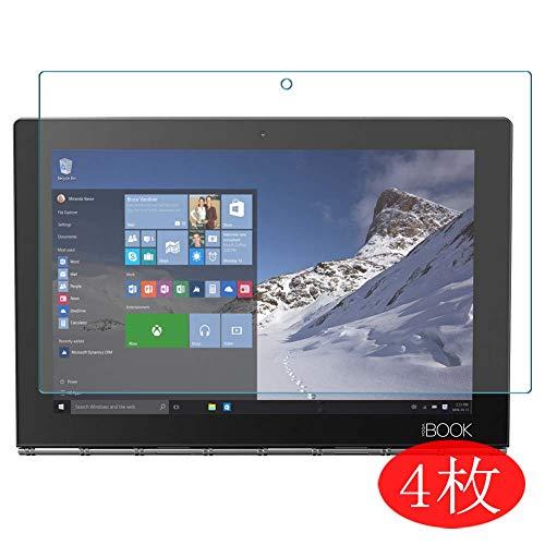 VacFun 4 Piezas HD Claro Protector de Pantalla Compatible con Lenovo Yoga Book 10.1', Screen Protector Sin Burbujas Película Protectora (Not Cristal Templado) New Version
