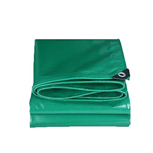 LILIS Fundas Muebles Jardin Impermeable PVC Tarpa Impermeable Tarpa Tarpón Lona de Servicio Pesado Reforzado al Aire Libre, Tallas múltiples, 350 g/m² (Color : Green, Size : 2X3m)