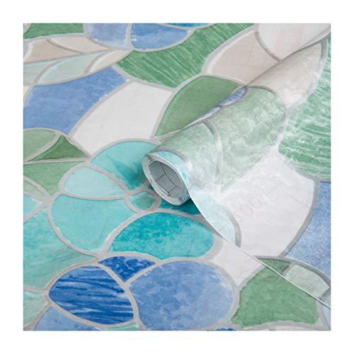 d-c-fix self-Adhesive Window Film Lisboa Blue 17.7'' x 78.7'