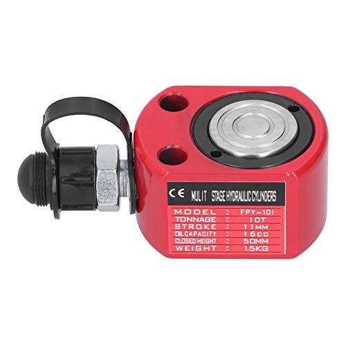Idraulico separato Idraulico separato -Cilindro idraulico separato Accessori industriali ultrasottili rossi FPY-101 10T 16CC
