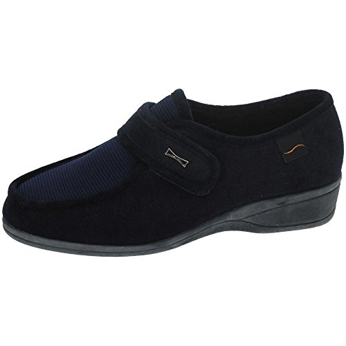 Doctor Cutillas 771 - Zapato Velcro Licra Marino, Color Marino, Talla 37