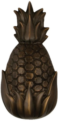 Gastfreundschaft Ananas Türklopfer–geölt Bronze (Premium Größe)