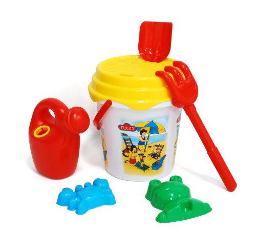 Caillou - Cubo de 21 cm con Mochila (Saica Toys 6398)