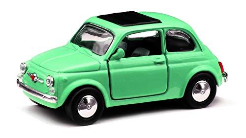 schaepers kaleidoskope Modellino//Fiat 500//Molla richiamo//12 cm//3colori//assortito//giallo bianco oppure nero//selezione a caso