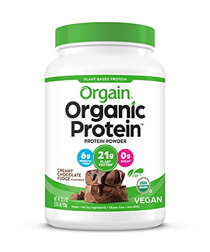 Orgain Organic Plant Protein Powder, Soy Free, Kosher Non-GMO, 2.04 Lb (Packaging Can Vary) from Orgain Organic Plants Based Protein Powder