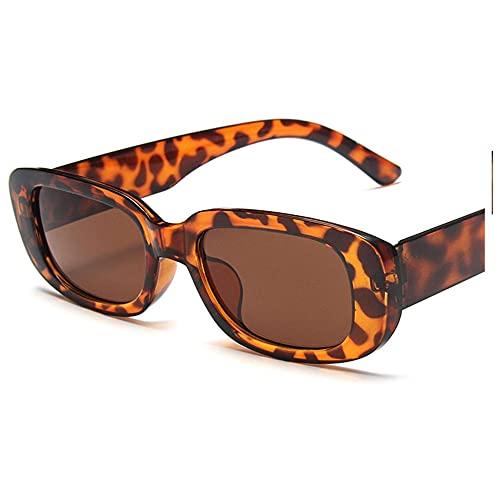 IRCATH Gafas de Sol pequeñas Gafas de Sol Cuadradas Mujeres Olive Green Dazzling Eyewear Adecuado para la conducción de la Playa y el Senderismo-C8 Adecuado para Caminar y reunirse Junto al mar, Hace
