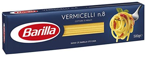 Barilla Pasta Vermicelli N.8, Pasta Lunga di Semola di Grano Duro, I Classici, 500 g