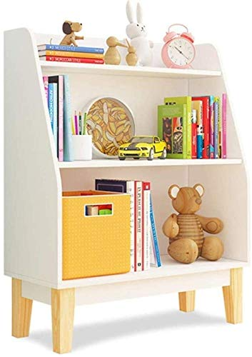 CCHAYE Kinder Kinder Bücherregal aus Holz für Spielzeug Hausregalhalter Lagerung Organizer Display Units Spielzeug Lagerregal Schlafzimmer Nachttisch Zeitungsständer Improve