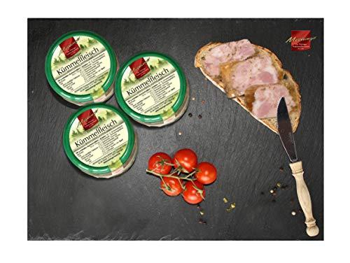 Kümmelfleisch aus Thüringen I Wurst in Glaskonserven I Spezialitäten aus Meiningen