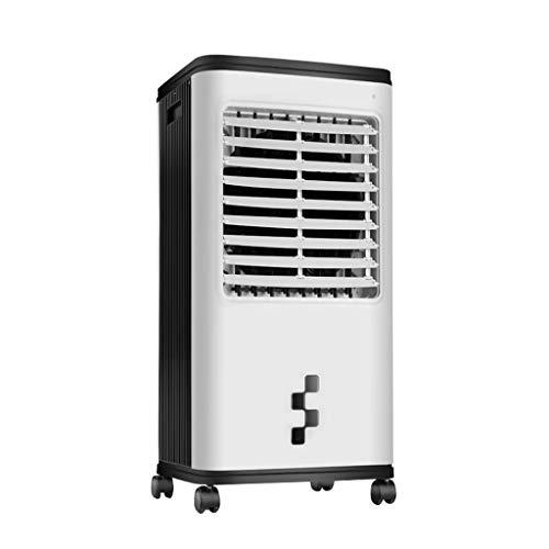 GYF Enfriador Evaporativo,El Ahorro De Energía 3 En 1 Purificador Función Frío Ventilador Control Remoto Multifunción Aires Acondicionados Móviles (Color : White, Size : B)