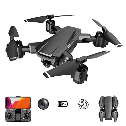 GPS Drone with 4K UHD Camera 5G WiFi FPV RC Quadcopter for Adults with Auto Return Home,Follow Me,26 Minutes Flight Time Portable Foldable Drones for Beginners
