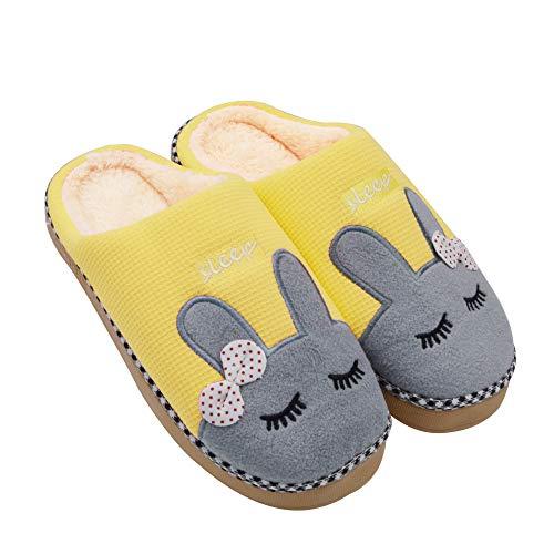 Sporzin Zapatillas Casa Para Mujer Hombre Unisexo