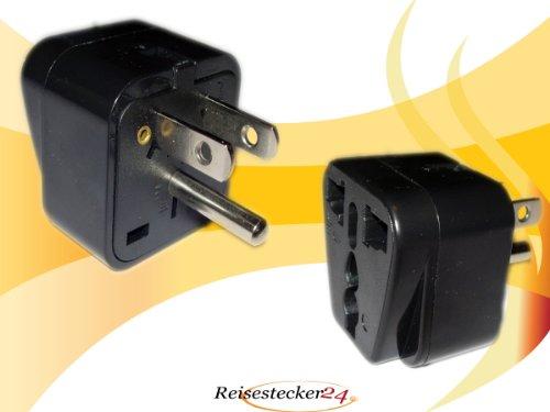 Adaptador de Enchufe de Diseño de Costa Rica a Alemania Enchufe Schuko, Enchufe de Conversión CR-D