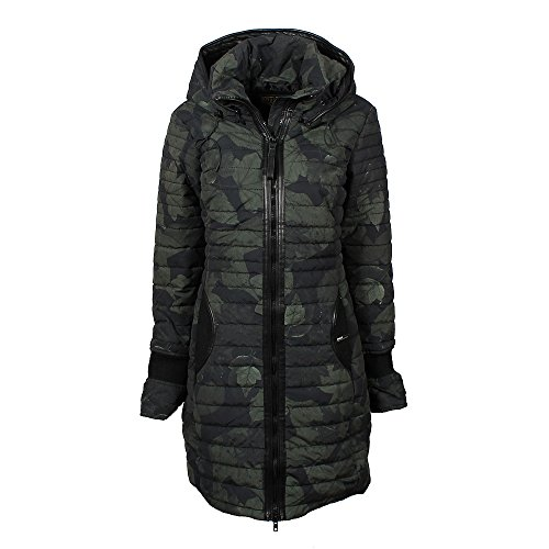 khujo Daily Jacket 1072CO173-HI5 Damenjacke Night Leave/Olive Gr. S