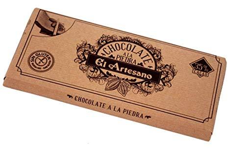 Chocolate a la piedra (a la taza) 36% cacao El Artesano, tableta de 150 gr .El chocolate a la piedra (o a la taza) lleva un mínimo de 35% cacao y tiene un toque amargo y suave.