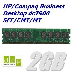 DSP Memory 2GB Speicher/RAM für HP/Compaq Business Desktop dc7900 SFF/CMT/MT