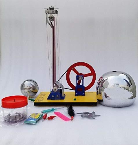 Generator für Energiephysik, Hochleistungs-Handkurbel Van De Graaff