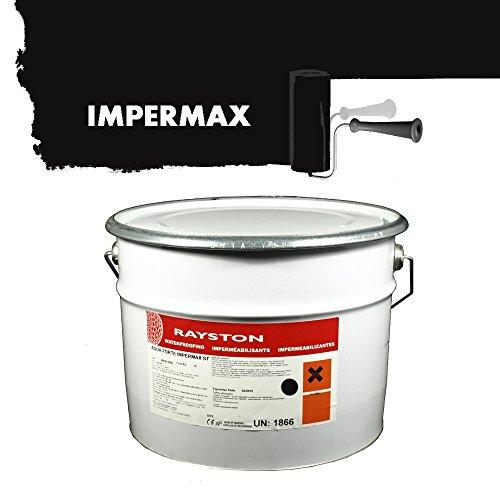 Impermax ST - flüssige Teichfolie - schwarz 10kg