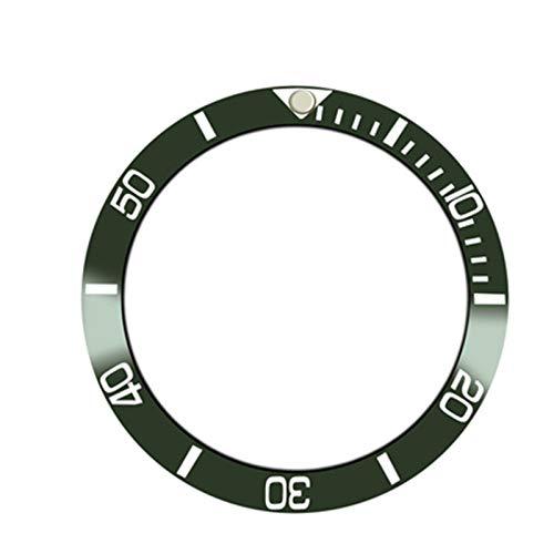 SHEAWA - Anello di ricambio per orologio Rolex GMT da 40 mm, con inserto in ceramica
