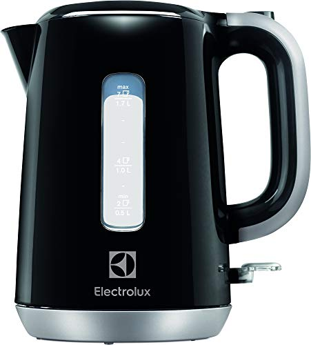 Electrolux EEWA3300 Hervidor de agua Love Your Day Collection, 2200 W, 1.7 litros, Negro