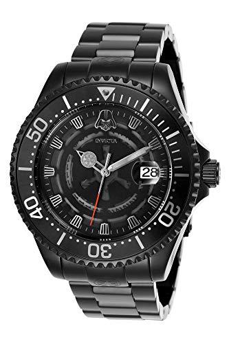 Invicta 26161 Star Wars Reloj para Hombre acero inoxidable Automático Esfera negro