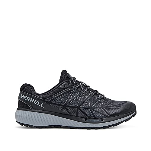 Merrell womens Agility Synthesis 2 Sneaker, Black, 8 US