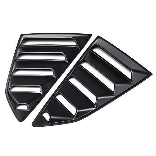 Duoying Auto Jalousie Abdeckung Auto Jalousie Abdeckung Kreative Hintere Seitenscheibe 1/4 Viertel Zubehör Auto Styling für Chevy Camaro