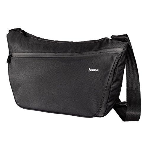 Hama 00126617 Bandolera Negro Estuche para cámara fotográfica - Funda (Bandolera, Universal, Olympus C-211 Zoom, Polaroid PDC-3000,PDC 2000-T, PDC 2000-40, PDC 2000-60, Negro)
