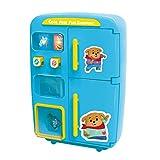 Toygogo Simulazione Frigorifero Distributore Automatico Fai Finta di Giocare Regali di Giocattoli da Cucina - Blu, 28.5x13x27.5cm