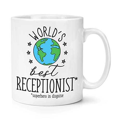 World's Mejor Recepcionista 10oz Taza