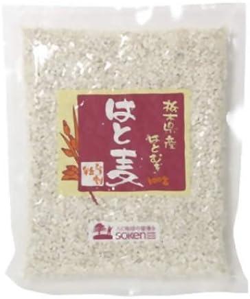 創健社 栃木県産はと麦 ひき割粒 220g
