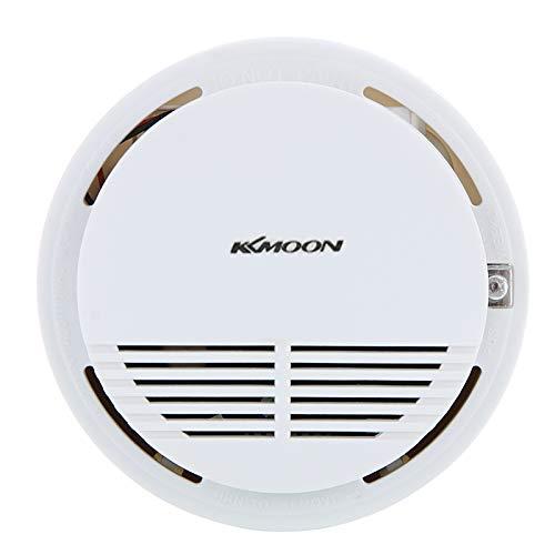 Nishore Sistema de segurança de fumaça fotoelétrico alarme fogo Smoke Detector Sensor casa standalone para cozinha Home 9V