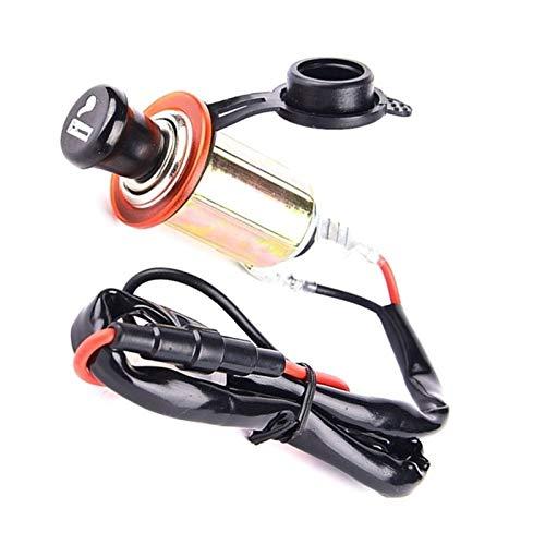 JunHUA Motorrad-Auto-Zigaretten-Feuerzeug-Auto American Standard Wasserdicht Automatische Zigarettenanzünder-Ganzmetallgehäuse