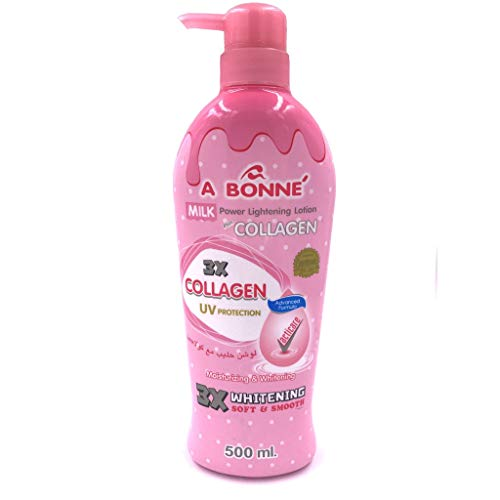 A Bonne Miracle Milk Power Lightenning Collagen Lotion 500ml Smooth Soft Skin