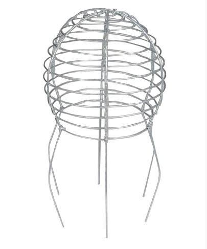 Klein Vogelschutzgitter für Kamine, ballonförmig–Edelstahl