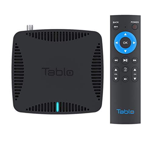 Tablo Dual HDMI [TDNS-HDMI-2B-01-CN] Over-The-Air [OTA] Digital Video Recorder [DVR] - with WiFi, Remote, and Automatic Commercial Skip, Black