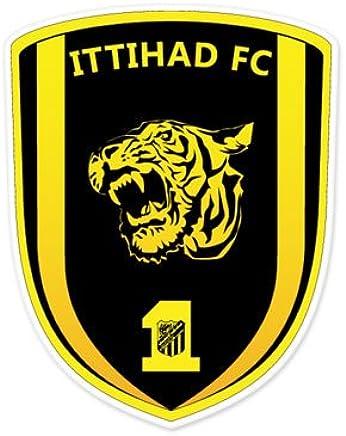 Ittihad FC - Saudi Arabia Football Soccer Futbol - Car Sticker - 5