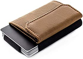 JAIMIE JACOBS Minimalistic Wallet Nano Boy Pocket Slim Wallet for Minimalists Credit Card Holder with Coin Pocket for...