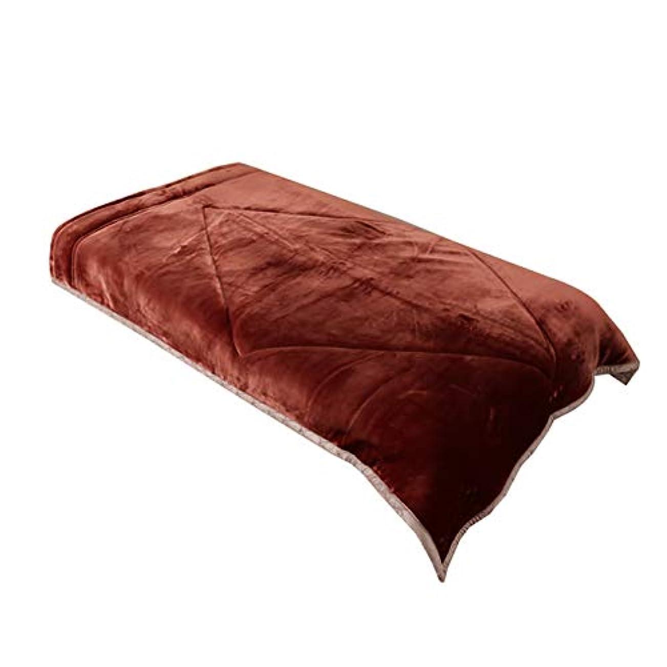 海洋の抽象化ピアニスト毛布 TEIJIN V-lap(R) あったかブランケット シングル/ブラウン