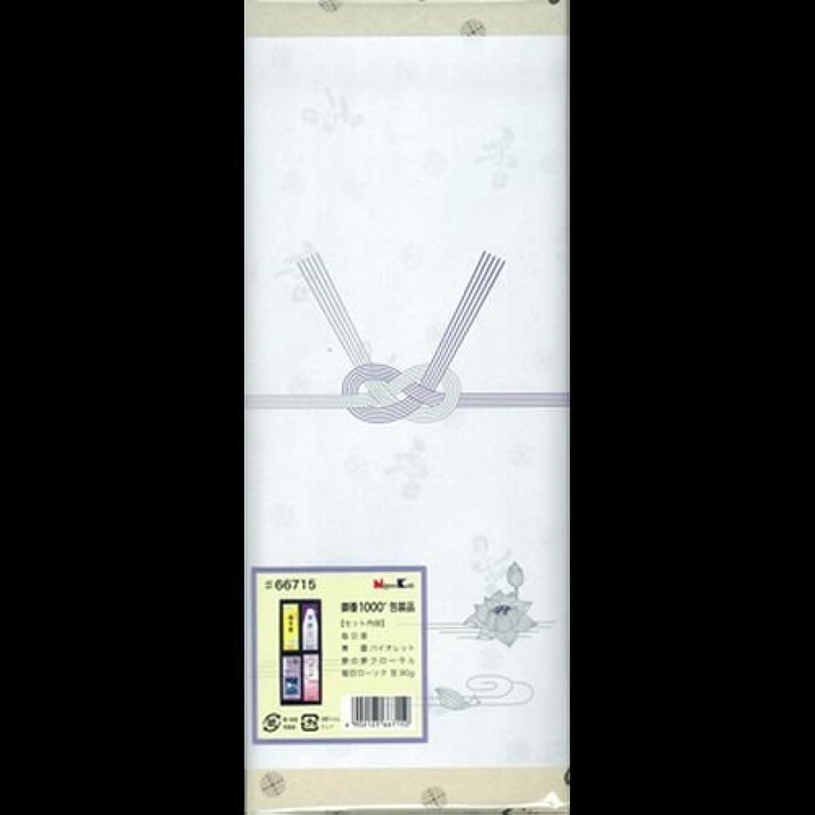 水分値パステル【まとめ買い】御香セット1000 包装品 66715 ×2セット