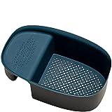 LEMORTH Multifunzione Lavello Lavello Scovaggio Drenaggio Rack Lavello Drain Scaffale Sink Strainer Basket Storage Rack Lavello Porta spugna per i filtri da cucina Design pieghevole rifiuti alimentari