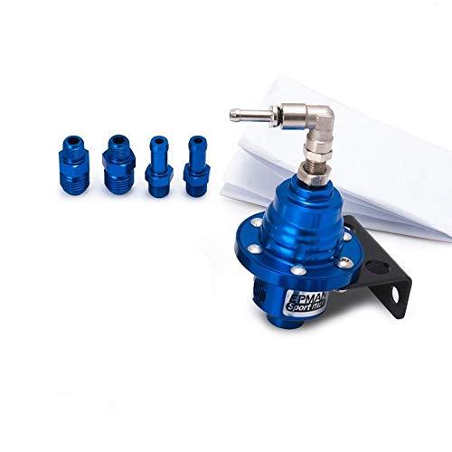 EPMAN Sport New JDM Kraftstoffdruckregler FPR Typ S mit weißem Messgerät (blau)