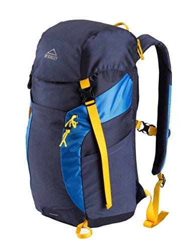 McKinley sac à dos de randonnée pour enfant pour l'école et les loisirs bear 24 pour garçon bleu/jaune
