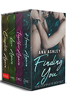 Finding You: The Complete Box Set (a contemporary MM romance series) by [Ana Ashley]