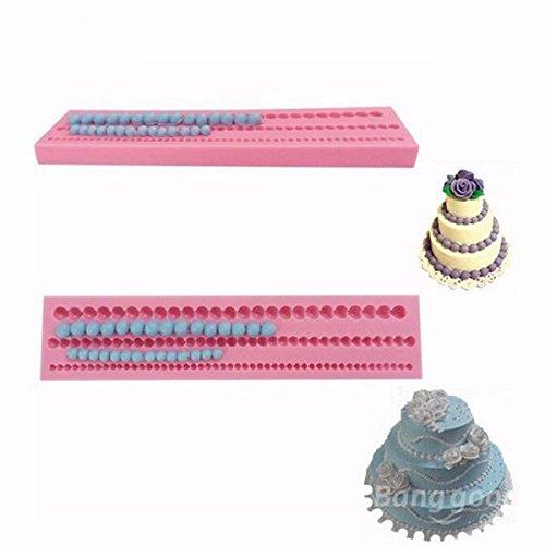 Cgoh Perle 3D Pearl Silicone Fondant Fondant Moule de gâteau de gâteau Décoration DIY
